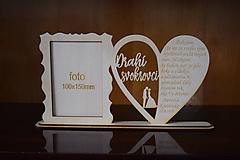 Darčeky pre svadobčanov - Poďakovanie Rodičom s fotografiou 2 - 12185601_
