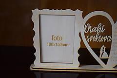 Darčeky pre svadobčanov - Poďakovanie Rodičom s fotografiou 2 - 12185603_