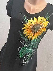 Tričká - Slniečkový kvet - 12185295_