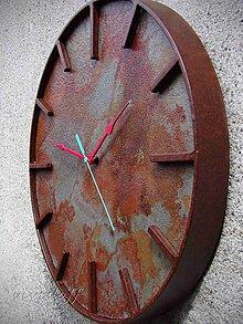 Hodiny - hodiny Industry-Rusty - 12189035_