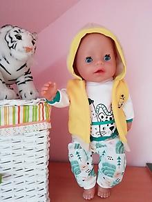 Hračky - Oblečenie pre bábiku Baby born v 43 cm - 12188824_