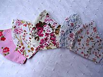 Rúška - Bavlnené rúška... dámske - 12188140_