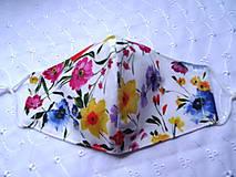 Rúška - Bavlnené rúška... dámske - 12188142_