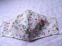 Rúška - Bavlnené rúška... dámske - 12188150_