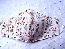 Rúška - Bavlnené rúška... dámske - 12188164_