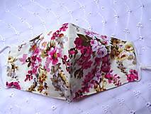 Rúška - Bavlnené rúška... dámske - 12188174_