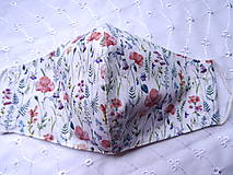 Rúška - Bavlnené rúška... dámske - 12188181_