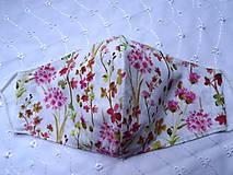 Rúška - Bavlnené rúška... dámske - 12188187_