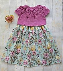 Detské oblečenie - Šaty  romantické - 12187803_