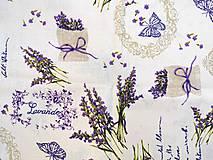 Úžitkový textil - Bavlnené vrecúška na levanduľu PRÁZDNE (Vzor 10.) - 12188116_