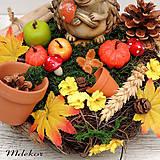 Dekorácie - Jesenná dekorácia - 12188888_