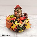Dekorácie - Jesenná dekorácia - 12188936_