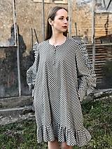 Šaty - Vzorovane šaty  - 12189169_