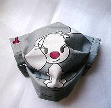 Rúška - Ochranné rúško detské - dvojvrstvové - skladom - 12188775_