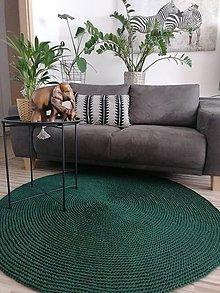 Úžitkový textil - Háčkovaný koberec Jungle - 12187730_
