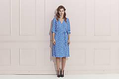 Šaty - Princesové zavinovacie šaty - 12191890_