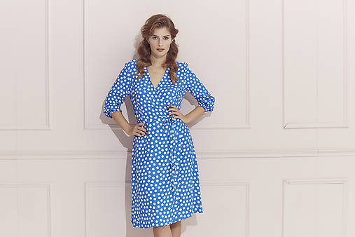 Šaty - Princesové zavinovacie šaty - 12191887_