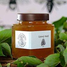 Potraviny - lipový med (400g) - 12191584_