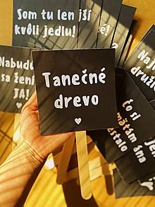 Papiernictvo - Rekvizity na fotenie na svadbu - Black and white - 12191412_