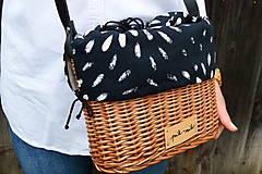 Kabelky - Prútená kabelka na rameno N°9 - 12192817_