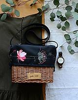 Kabelky - Prútená kabelka na rameno N°8 - 12192918_