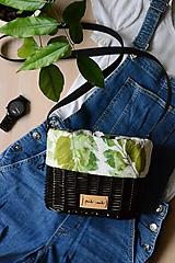 Kabelky - Prútená kabelka na rameno N°7 - 12192945_
