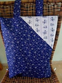 Nákupné tašky - folk nákupná taška - 12192300_