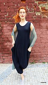 Šaty - Pruhované  šaty s kapsami -TAMY - 12190486_
