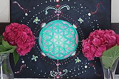 Obrazy - Kvet života - vesmír okolo nás - 12190382_
