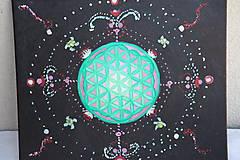 Obrazy - Kvet života - vesmír okolo nás - 12191803_