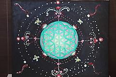 Obrazy - Kvet života - vesmír okolo nás - 12191806_