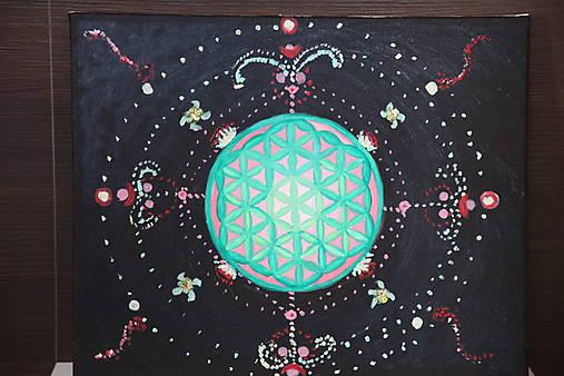 Kvet života - vesmír okolo nás