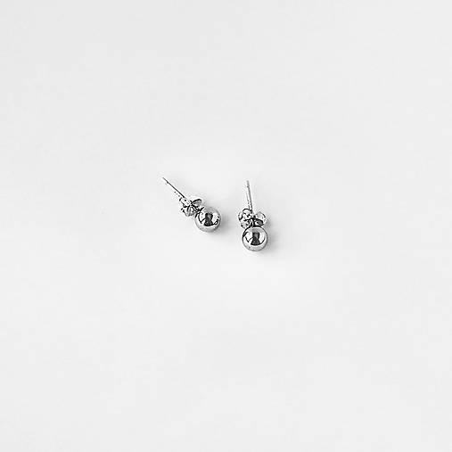 Náušnice - Okrúhle minimalistické náušnice - 12190415_