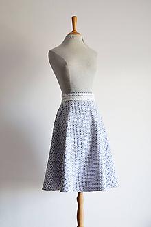 Sukne - Polkruhová folkie sukňa - 12192676_