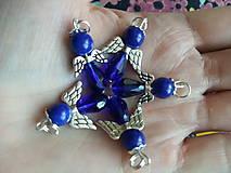 Iné šperky - Anjel modrý - 12190148_