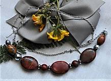 Náhrdelníky - Jaspis - Picasso- náhrdelník - 12194500_