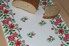 Úžitkový textil - Štóla Ruže v oblúkoch - 12195276_