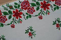 Úžitkový textil - Štóla Ruže v oblúkoch - 12195278_