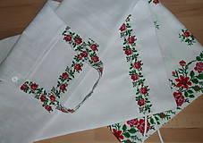 Úžitkový textil - Štóla Ruže v oblúkoch - 12195285_