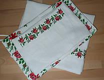 Úžitkový textil - Štóla Ruže v oblúkoch - 12195287_