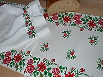 Úžitkový textil - Štóla Ruže v oblúkoch - 12195457_