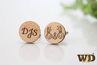 Šperky - Manžetové gombíky - 12193939_