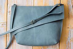 Kabelky - kožená kabelka - 12195163_
