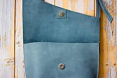 Kabelky - kožená kabelka - 12195168_