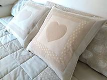 Úžitkový textil - Vankúš Cappuccino - 12193951_