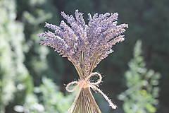 Potraviny - Dekoračná levanduľová kytička - 12194624_