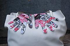 Jemné úpletové rukavičky