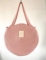 Veľké tašky - ZERO WASTE Taška Blush - 12193573_