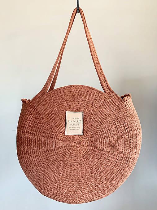 Veľké tašky - ZERO WASTE Taška Terracota - 12193606_