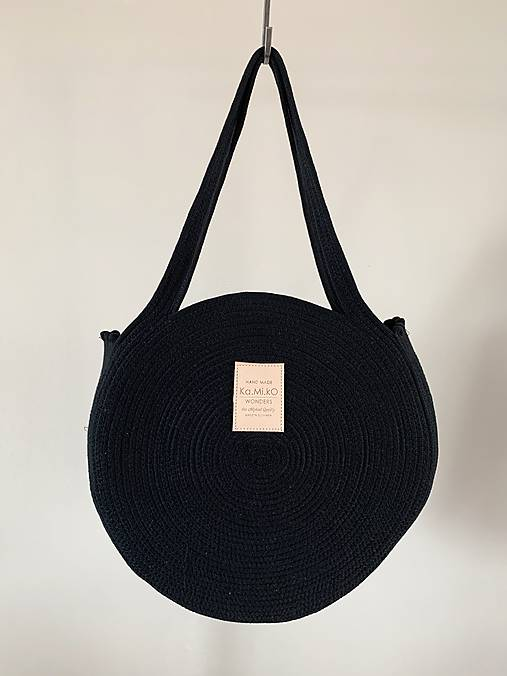 Veľké tašky - ZERO WASTE Black - 12193628_